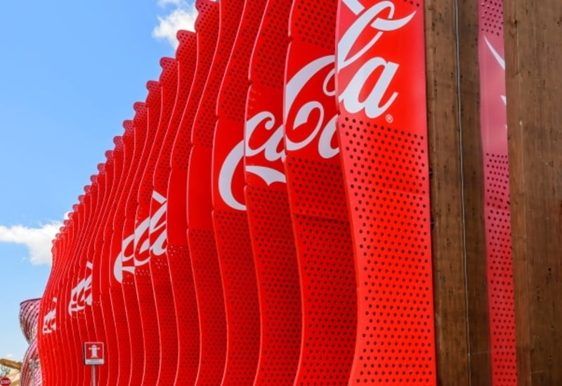 Pavilion of Coca Cola